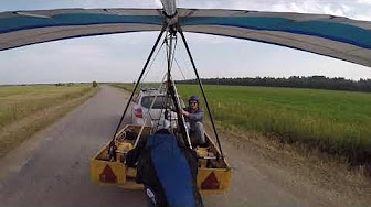 payout Winch Eladia  Hang Glider